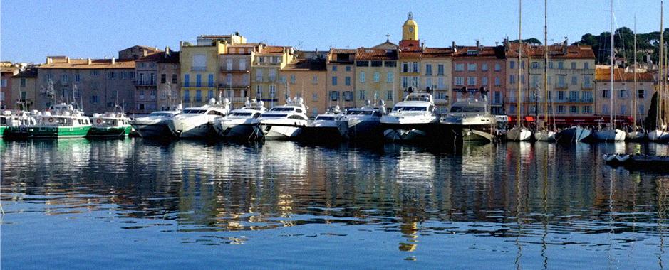 il famoso porto di Saint-Tropez