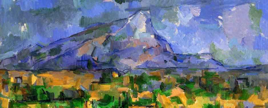 Sainte Victoire Mountain by Cézanne