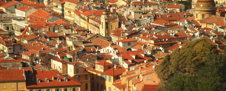 Guided tours of the old town in Nice with a local guide